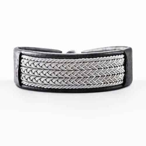 "Image of Pewter Bracelet 1019 Classic ""Carl"""