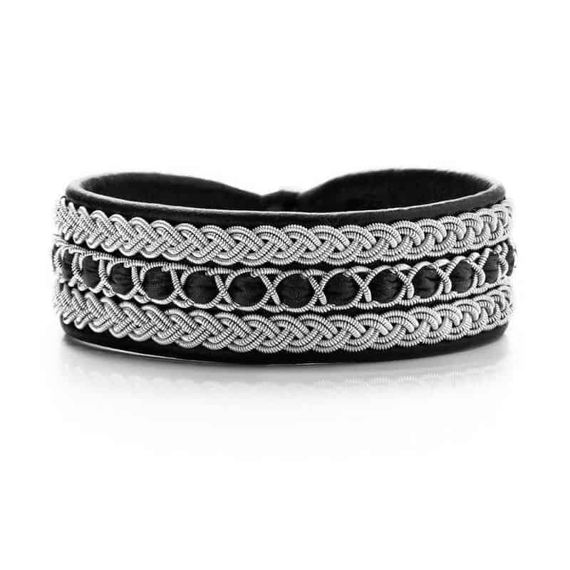 """Photo of Pewter Bracelet 1032 Designtorget """"L"""""""
