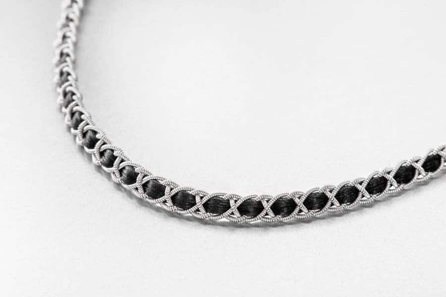 Image of Pewter Necklace 3007
