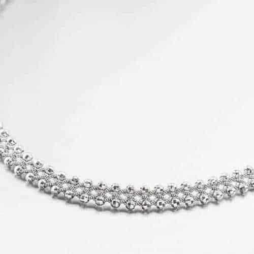 Photo of Necklace 3021 Silver Facet