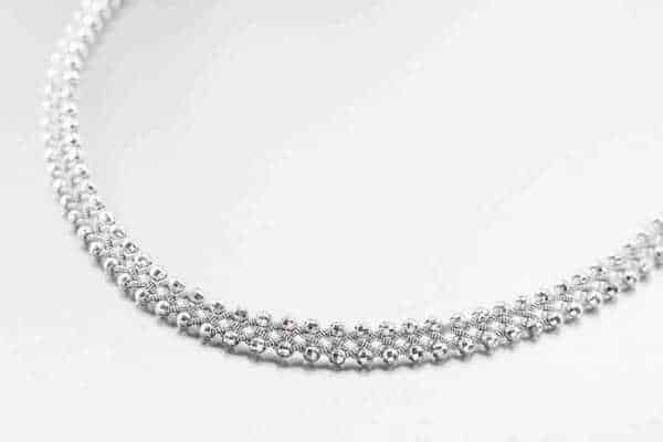 Produktfoto av Halsband 3021 Silver Fasett