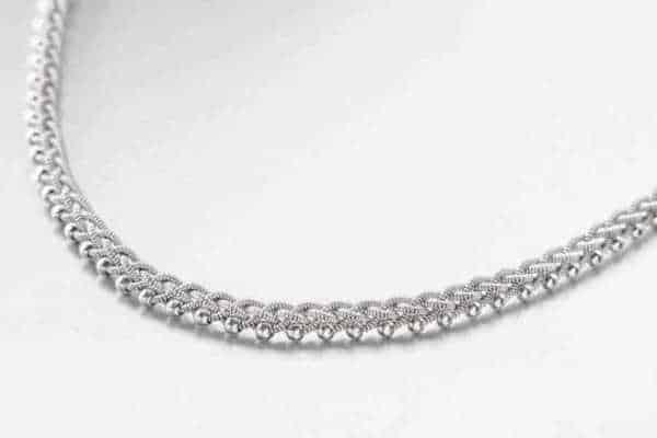 "Produktfoto av Halsband 3031 ""Unique"" Silver"