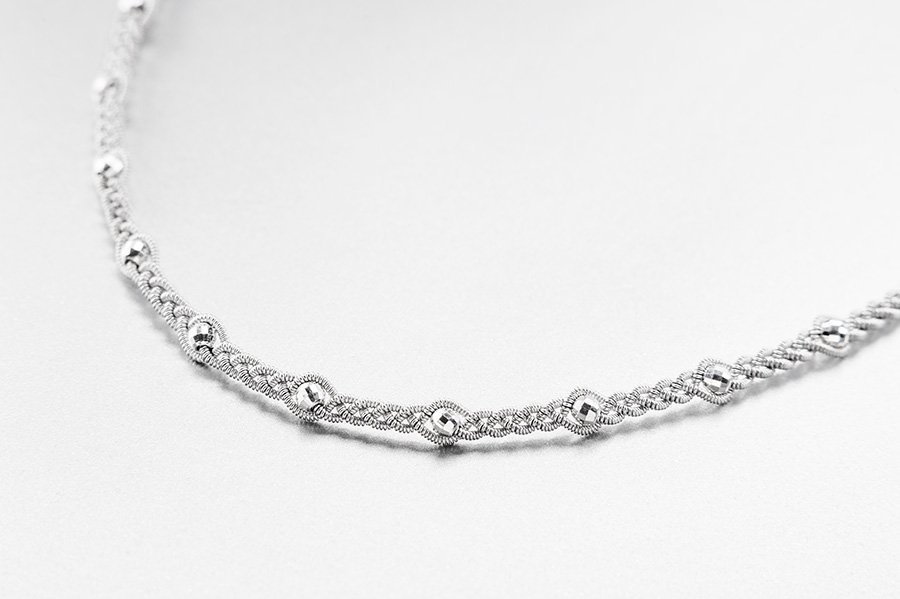 Photo of Necklace 3032 Silver Facet