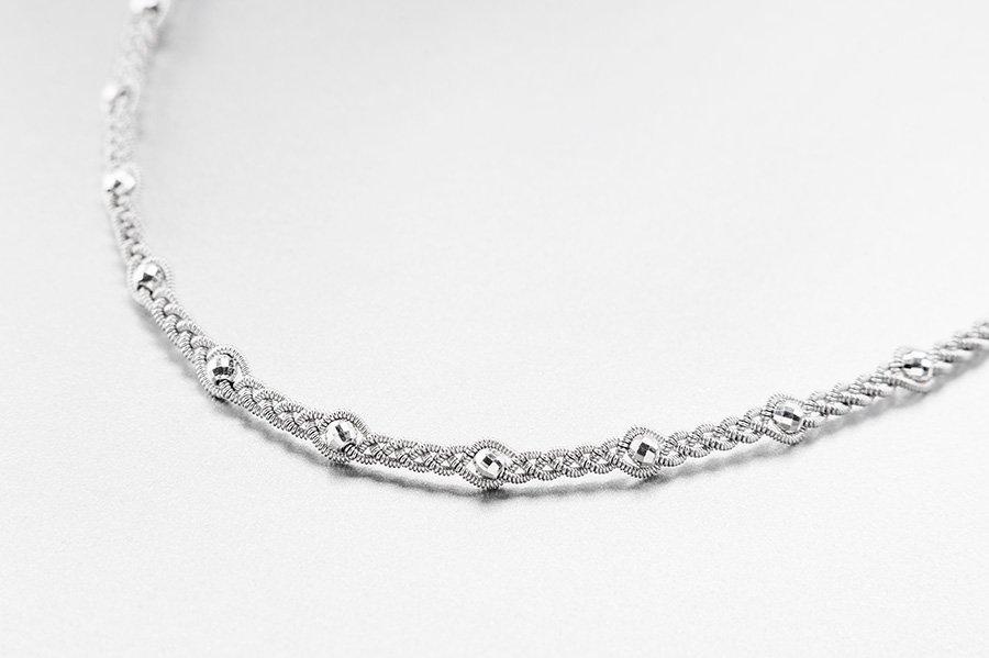 Produktfoto av Halsband 3032 silver fasett